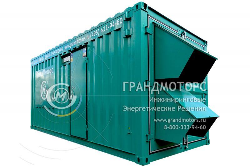 Газовый генератор KOHLER-SDMO GZ400 в шумозащитном кожухе